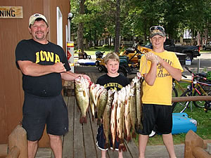 Stony Point Cass Lake Fishing